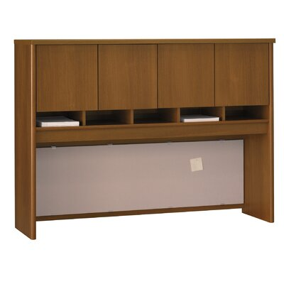 Series C 43 H x 60 W Desk Hutch Finish: Caf� Oak