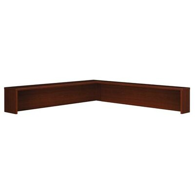 Series C 14 H x 77 W Desk Hutch Finish: Mahogany