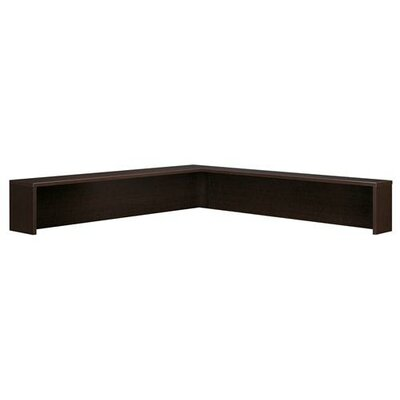 Series C 14 H x 77 W Desk Hutch Finish: Mocha Cherry