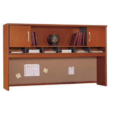 Series C 43 H x 71 W Desk Hutch Finish: Autumn Cherry