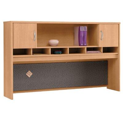 Series C 43 H x 71 W Desk Hutch Finish: Danish Oak/Sage