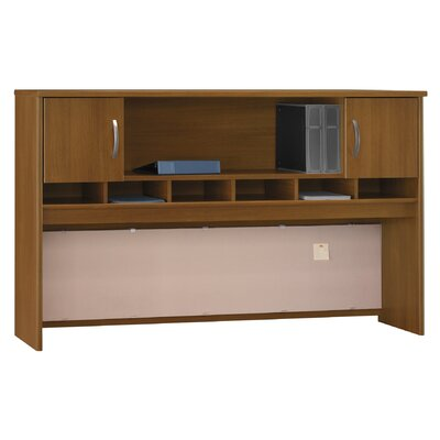 Series C 43 H x 71 W Desk Hutch Finish: Caf� Oak
