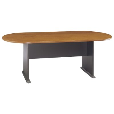 Racetrack Oval 29.875H x 34.5W x 81.5L Conference Table Finish: Natural Cherry