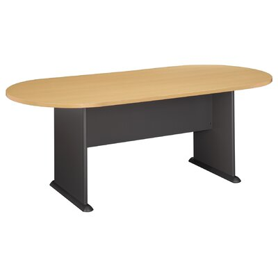 6.9 Oval Conference Table Finish: Savannah Beech