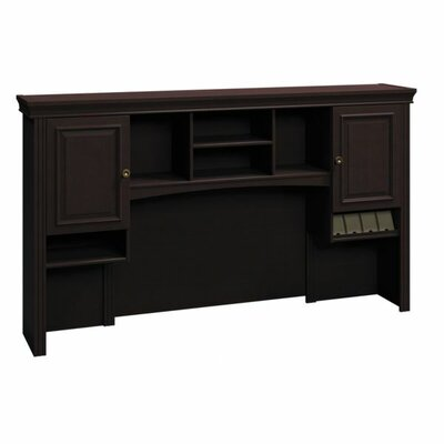 Syndicate 41.3 H x 72 W Desk Hutch Finish: Mocha Cherry