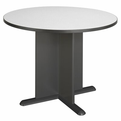 Fairplex Circular 29.88H x 41.5W x 41.5L Conference Table Finish: Slate