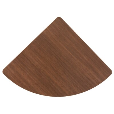 Series A 1 H x 26.875 W Desk Connector Finish: Sienna Walnut