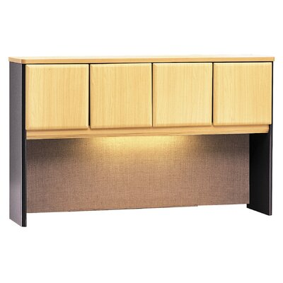 Series A 36.5 H x 59.625 W Desk Hutch Finish: Beech