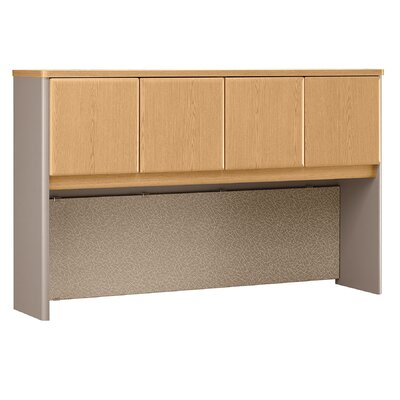 Series A 36.5 H x 59.625 W Desk Hutch Finish: Light Oak