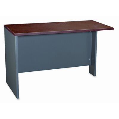 Series C 29.8 H x 47.7 W Left Desk Return Finish: Hansen Cherry / Graphite Gray