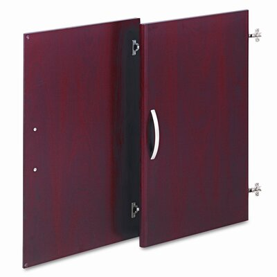 Series C Half-Height Door Kit for Bookcase Finish: Hansen Cherry