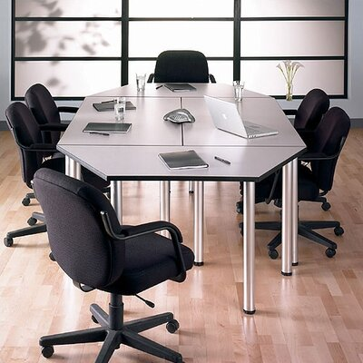 Aspen Boat shaped 29H x 56.75W x 28.375L Conference Table