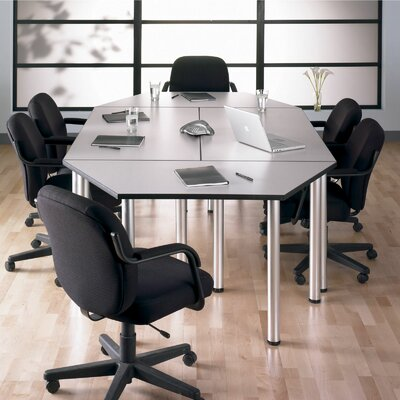 47.25 W Aspen Training Table Tabletop Finish: White Spectrum