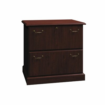 Syndicate 2-Drawer Lateral File Finish: Mocha Cherry