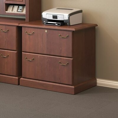 Syndicate 2-Drawer Lateral File Finish: Harvest Cherry