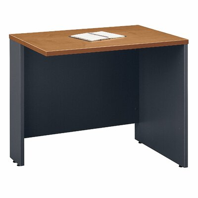 Series C 29.84 H x 35.43 W Reversible Desk Return Finish: Natural Cherry