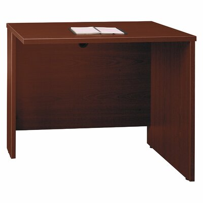 Series C 29.84 H x 35.43 W Reversible Desk Return Finish: Mahogany