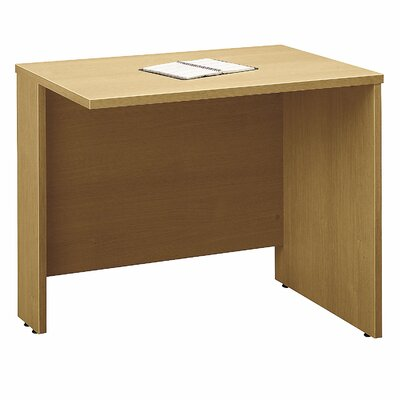 Series C 29.84 H x 35.43 W Reversible Desk Return Finish: Light Oak