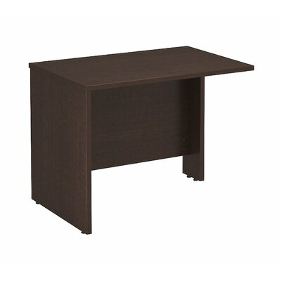 Series C 29.84 H x 35.43 W Reversible Desk Return Finish: Mocha Cherry