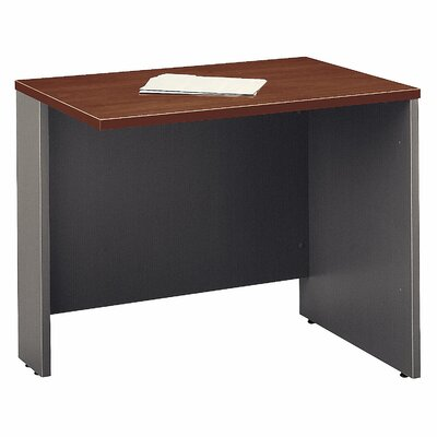 Series C 29.84 H x 35.43 W Reversible Desk Return Finish: Hansen Cherry