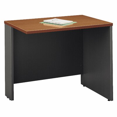 Series C 29.84 H x 35.43 W Reversible Desk Return Finish: Auburn Maple