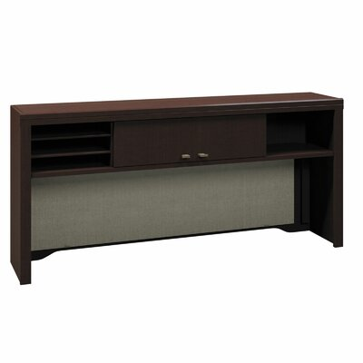 Enterprise 27.72 H x 60 W Desk Hutch Finish: Mocha Cherry
