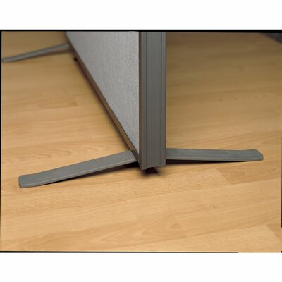 ProPanel Metal Panel Foot Finish: Light Gray/ Slate