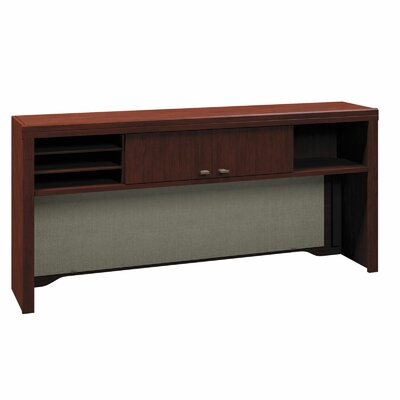 Enterprise 27.72 H x 60 W Desk Hutch Finish: Harvest Cherry