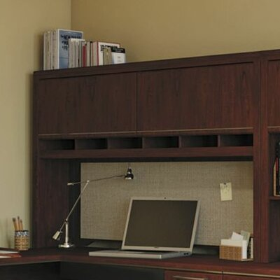 Enterprise 41.71 H x 70.12 W Desk Hutch Finish: Harvest Cherry