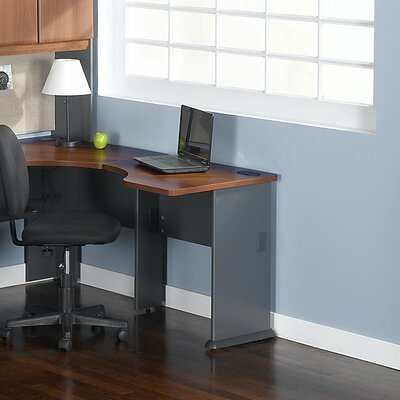 Series A 29.8 H x 29.45 W Desk Peninsula Finish: Hansen Cherry