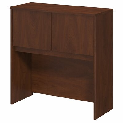 Series C Elite 36.02 H x 35.35 W Desk Hutch Finish: Hansen Cherry
