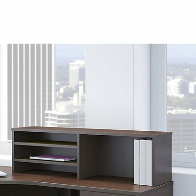 Series C Elite 13.82 H x 45.39 W Desk Hutch Finish: Mocha Cherry