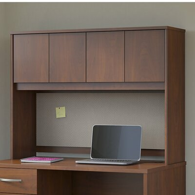 Series C Elite 36.02 H x 47.09 W Desk Hutch Finish: Hansen Cherry