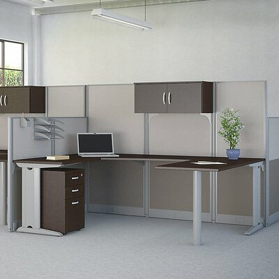 Office in an Hour U-Shape Workstation