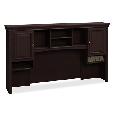Syndicate 41.26 H x 72.01 W Desk Hutch Finish: Mocha Cherry