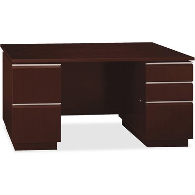 Double Pedestal Executive Desk Product Picture 801