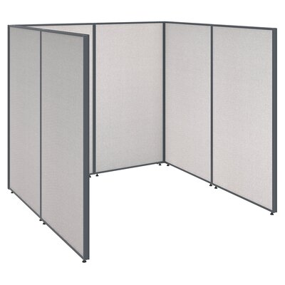 ProPanel Open Cubicle Configuration Finish: Light Gray