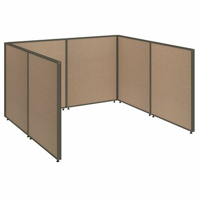 ProPanel Open Cubicle Configuration Finish: Harvest Tan