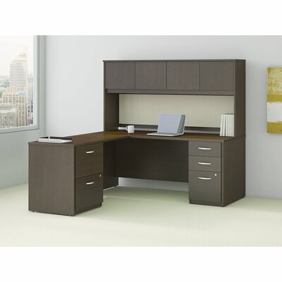 Series C Elite 36.02 H x 72 W Desk Hutch Finish: Mocha Cherry