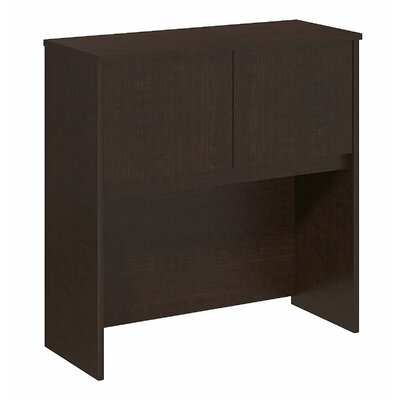 Series C Elite 36.02 H x 35.35 W Desk Hutch Finish: Mocha Cherry