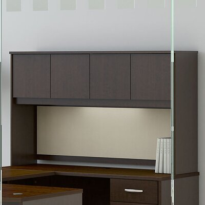 Series C Elite 36.02 H x 58.7 W Desk Hutch Finish: Mocha Cherry