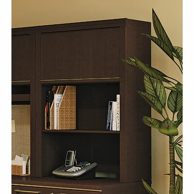 Enterprise 41.71 H x 30 W Desk Hutch Finish: Mocha Cherry