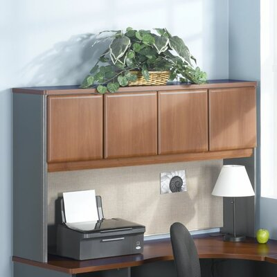 Series A 36.5 H x 59.625 W Desk Hutch Finish: Sienna Walnut