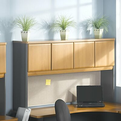 Series A 36.5 H x 59.625 W Desk Hutch Finish: Natural Cherry