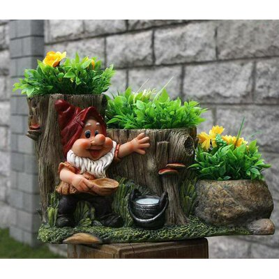 Resin Statue Planter SNF91088-1
