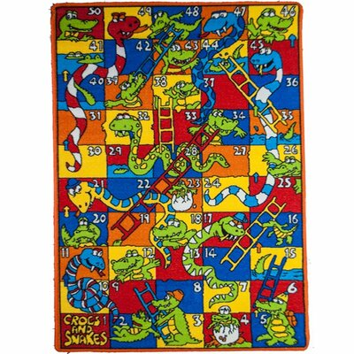 Kids Crocs and Snakes Area Rug