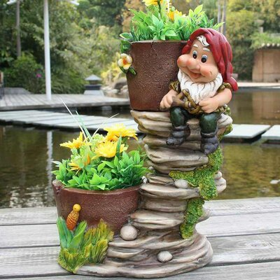 Resin Statue Planter SNF91089-1