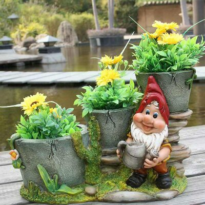 Resin Statue Planter SNF91088-2