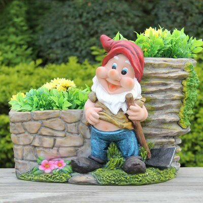 Resin Statue Planter SNF91210-2