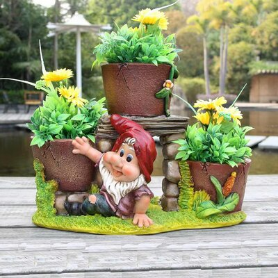 Resin Statue Planter SNF91087-1
